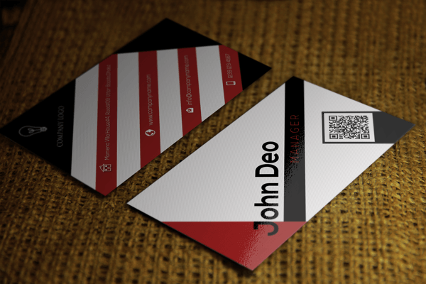 Clean and Modern Business card template free download