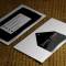 free business card templates download modern black an white business card