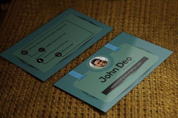 Cool and elegant business card psd 11 free business card template reheart Choice Image