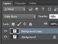 photoshop color burn