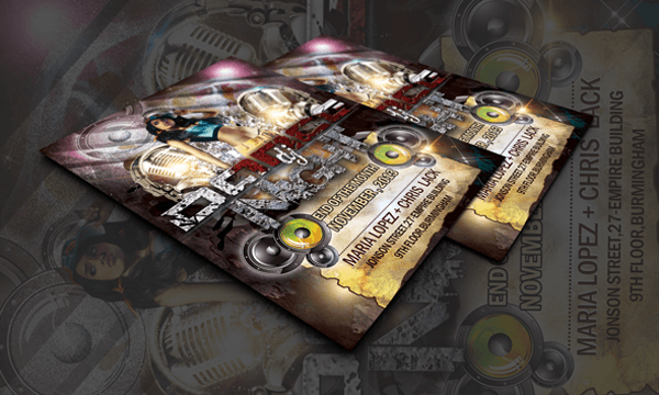 Dj Dance Party Free Flyer Templates Psd Download