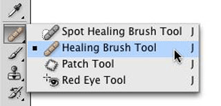 Healing Brush Tool