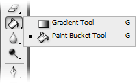 Gradient and Paint Busket Tool