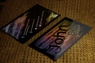 Free Name card Design