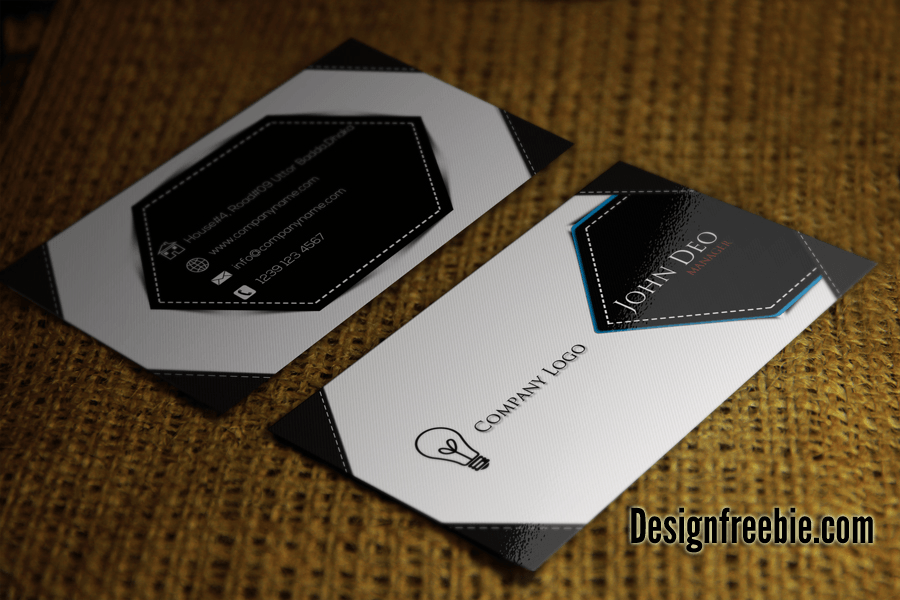 Cool stylishbusiness card psd template business card psd template reheart Images