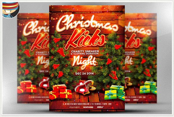 Christmas Kick Flyer Template