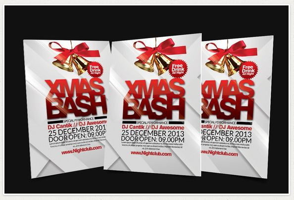 X Mas Bash Flyer