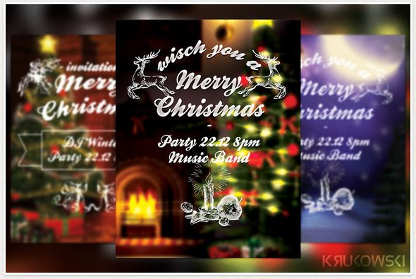 Christmas Insignia Flyer