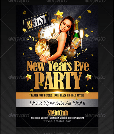 New Year's Party Flyer