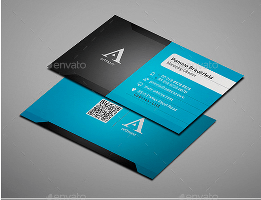 30 best business card templates psd design freebie modern business card design template fbccfo Choice Image