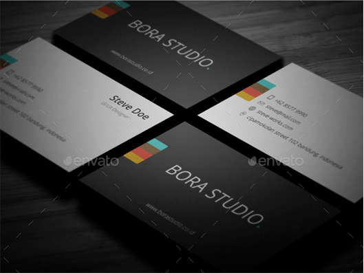 30 best business card templates psd design freebie simple business card design template accmission Choice Image