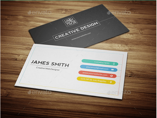 Creative And Minimal Business Card