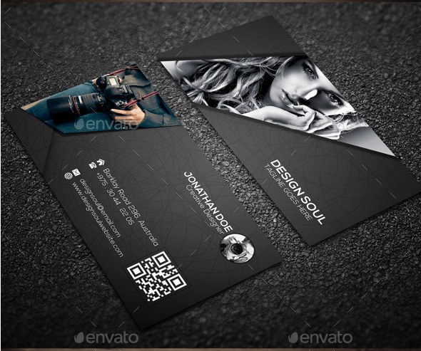 Effective business card design tips photography business card colourmoves