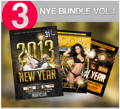 New Year Flyer Bundle