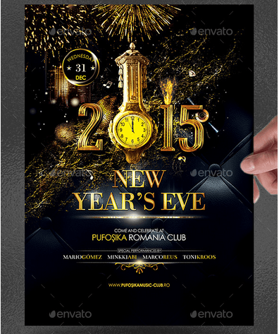Deluxe New Year Poster/Flyer