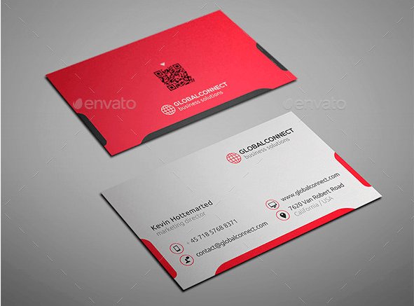 Simple and Clean Business Card Design Template
