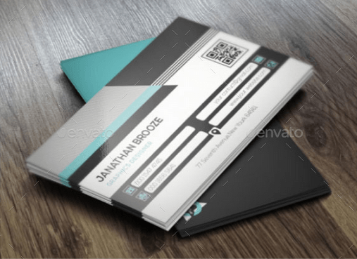 Clean Corporate Business Card Design Template