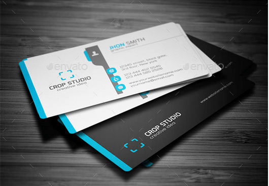 30 best business card templates psd design freebie corporate business card template reheart Images