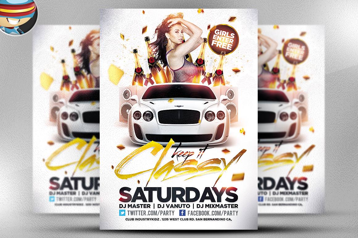 50 cool club flyers party flyer templates flyer psd - Free Psd Flyer Templates