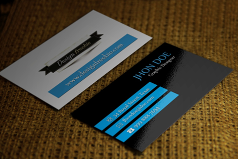 How To Make Your Own Business Card Using Photoshop - Photoshop cs6 business card template