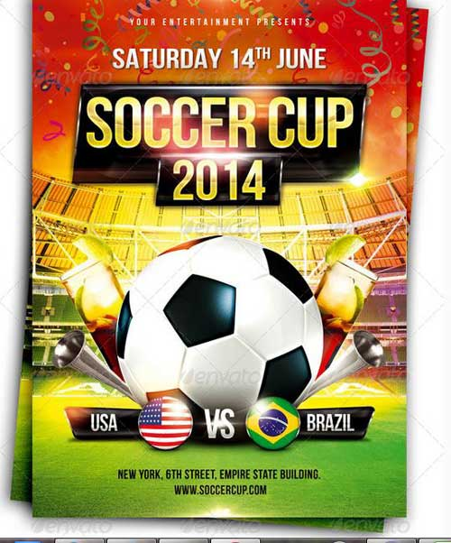 Soccer Tournament Flyer Design