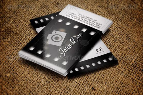 Best photography business card templates example photographer business card template flashek
