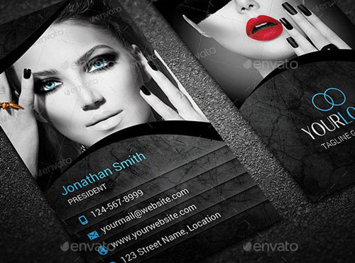 Best Photography Business Card Templates Example - Portrait business card template