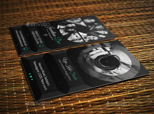 Photography Business Card Templates Example - Photography business card templates