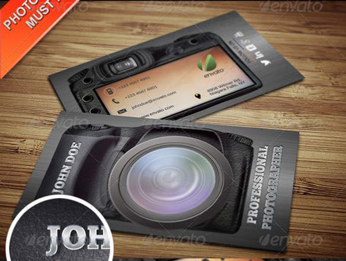 Best photography business card templates example 29 cheaphphosting