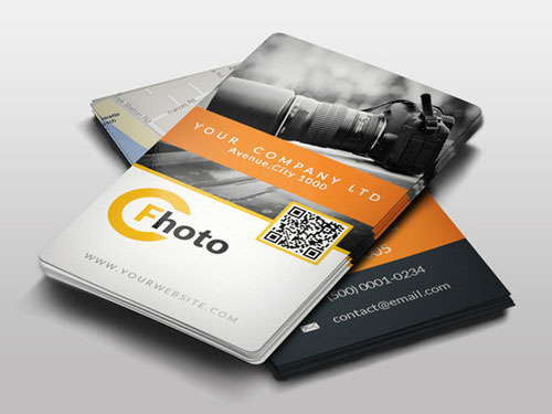 Best photography business card templates example photographer business card reheart Gallery