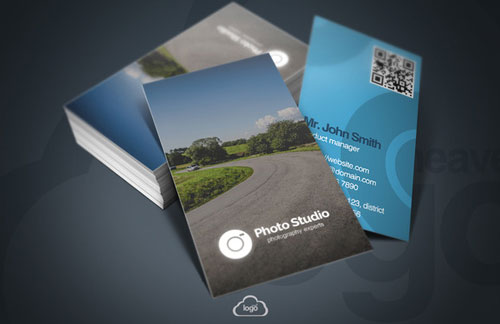 photographers business cards