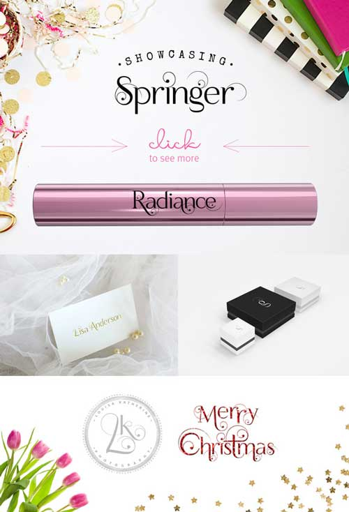 wedding card fonts
