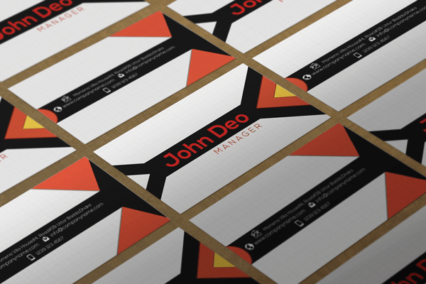Free Business card Template Psd Download