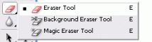 Adobe photoshop Eraser Tool