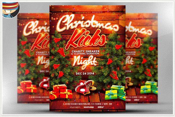 Christmas Kick Flyer Template