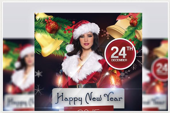 Happy New Year 2015 – Flyer Template