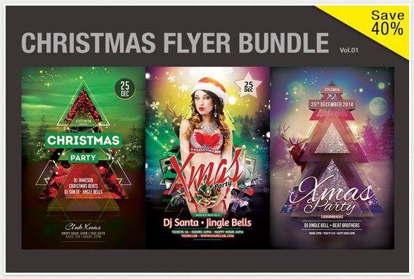 Christmas Flyer Bundle Vol.01