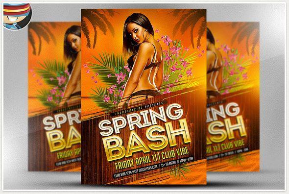 Spring Bash Flyer DESIGN