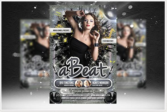A Beat Flyer Template