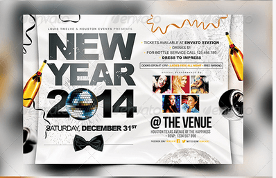 New Year Party | Flyers + FB Cover