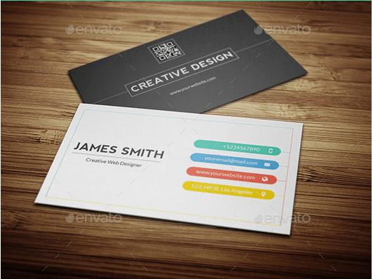 Creative And Minimal Business Card