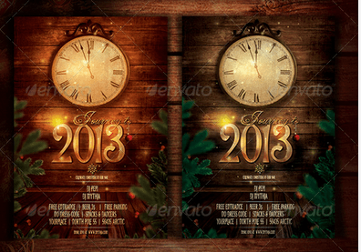 New Year Flyer/Poster Template