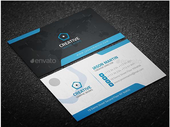 Creative Corporate Business Card Design Template