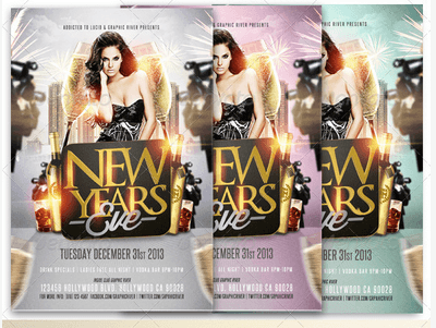 2014 New Year's Eve Party Flyer
