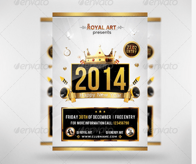 Flyer New Year