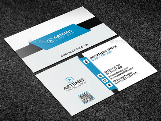 Corporate Name Card Template