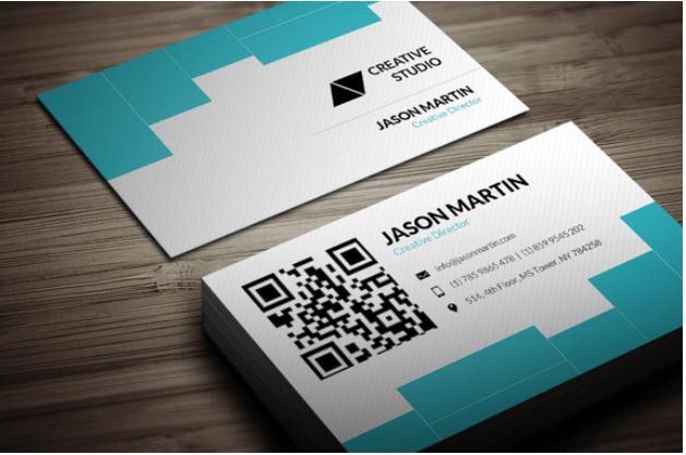 Corporate Data Company Business Card Design Template