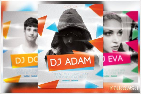 Deejay Party Flyer Design