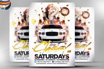 Cool club flyers & party flyer templates   Flyer psd