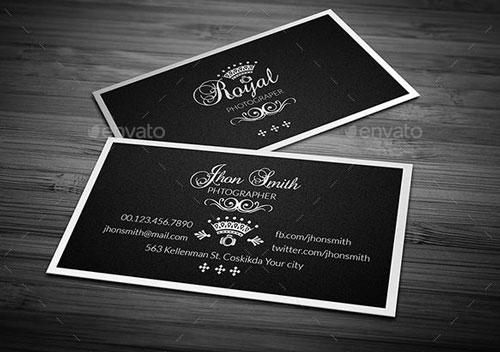 Photographer name Card